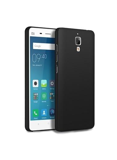 Microsonic Microsonic Matte Silicone Xiaomi Mi 4 Uyumlu Telefon Kılıfı Siyah